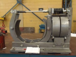 Freio industrial eletromagnético duas sapatas MTB